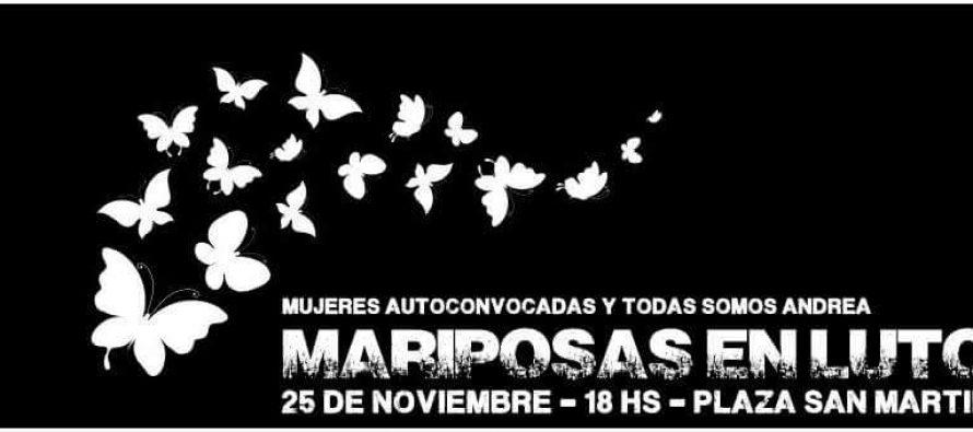 Mariposas en luto por la emergencia nacional
