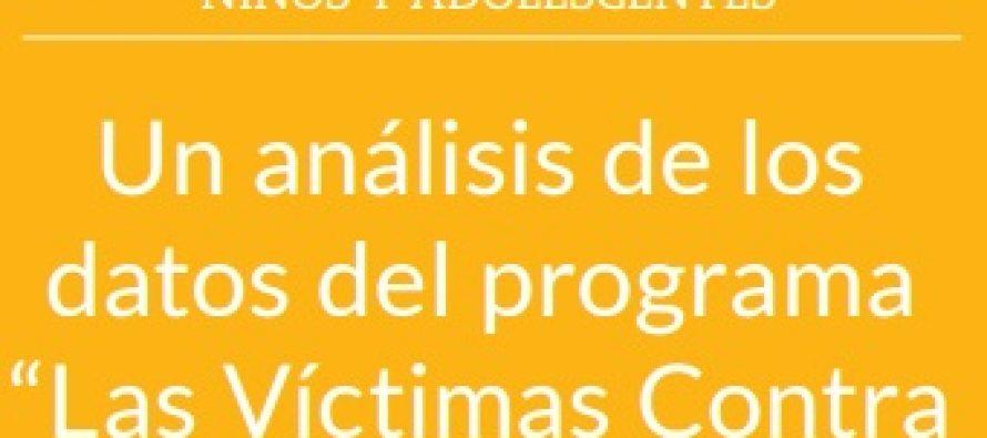 Un análisis de los datos del Programa Las Víctimas Contra Las Violencias