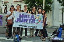 """8M: """"creemos que la unidad del campo feminista debe ser  sin fronteras"""""""
