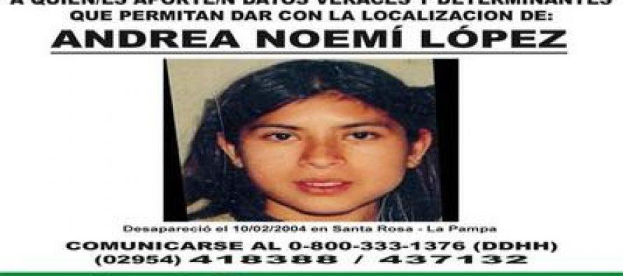 Derechos Humanos: el gobernador prorrogó el Decreto por datos sobre Andrea López