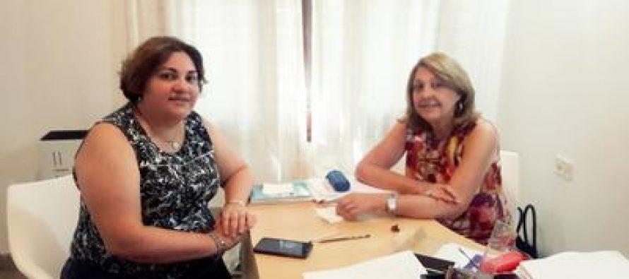 Reunión de trabajo por la equidad de género