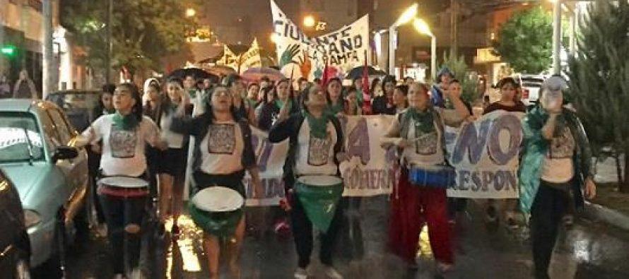 Ahora que estamos todas… Ahora que sí nos ven… En Santa Rosa – La Pampa #8M
