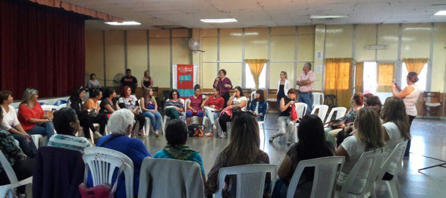 Secretaría de la Mujer junto al Grupo Andar  en 25 de Mayo