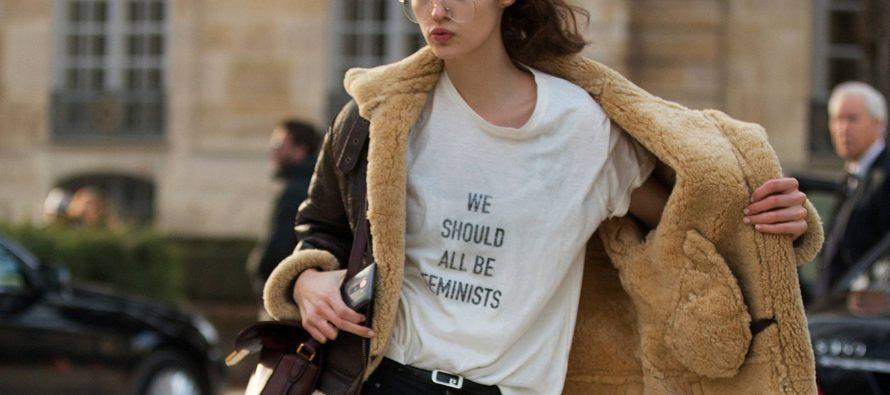 Feminismo en camiseta