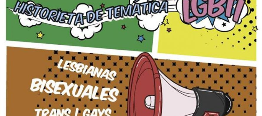 Concurso nacional de historieta de temática LGBTI 2017