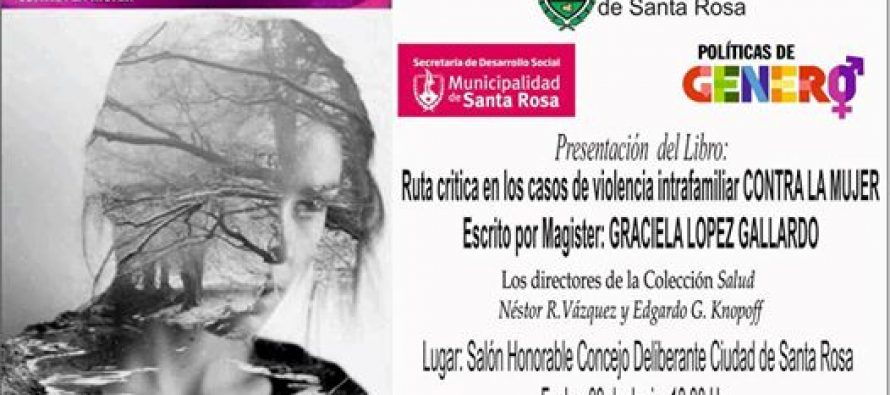 Presentan libro: Ruta crítica en los casos de violencia intrafamiliar CONTRA LA MUJER