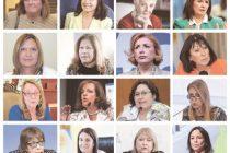 Solo 16 ministras en 34 años de Democracia