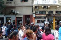 Continúa el acampe contra los femicidios frente al Consejo Nacional de las Mujeres