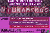 Ni Una Menos: debate a dos años de la primera marcha