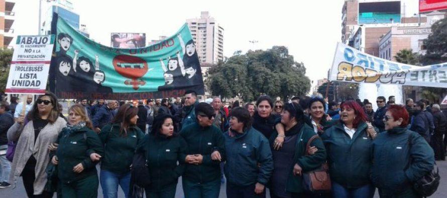Las mujeres, protagonistas de la gran huelga del transporte en Córdoba