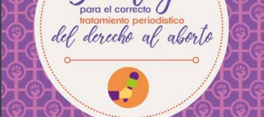 Decálogo para el correcto tratamiento periodístico del derecho al Aborto