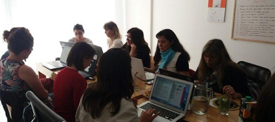 Red Internacional de Periodistas de Género se reunió con jueza de la Corte