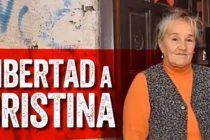 Por la libertad y absolución de Cristina Santillán