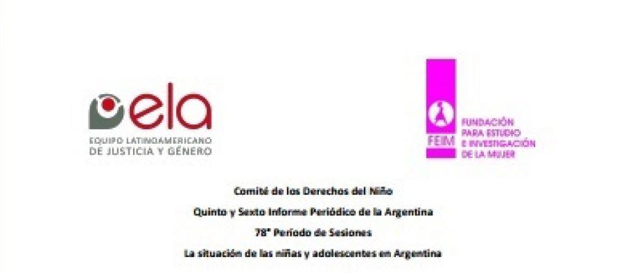 Derechos de niñas y adolescentes en Argentina