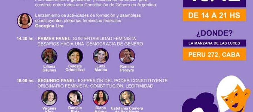 Lanzamiento Nacional de la Constituyente Feminista – Programa