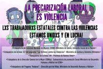 Red de Trabajadorxs del Estado Contra las Violencias: #MiraComoNosPonemos FrenteALaPrecarizacionLaboral