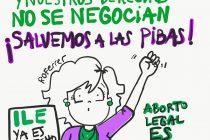 #SalvemosALasPibas #AbortoLegalEsVida