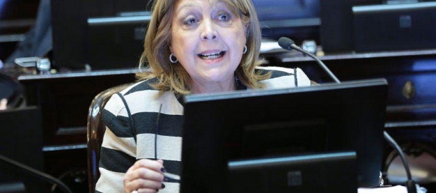 Norma Durango, rechazo al recorte presupuestario para infancia y adolescencia
