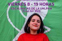 Ofelia Fernández encabezará un acto en Santa Rosa