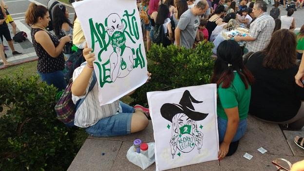 La Pampa, Aborto Legal, Foto Muni Moreno