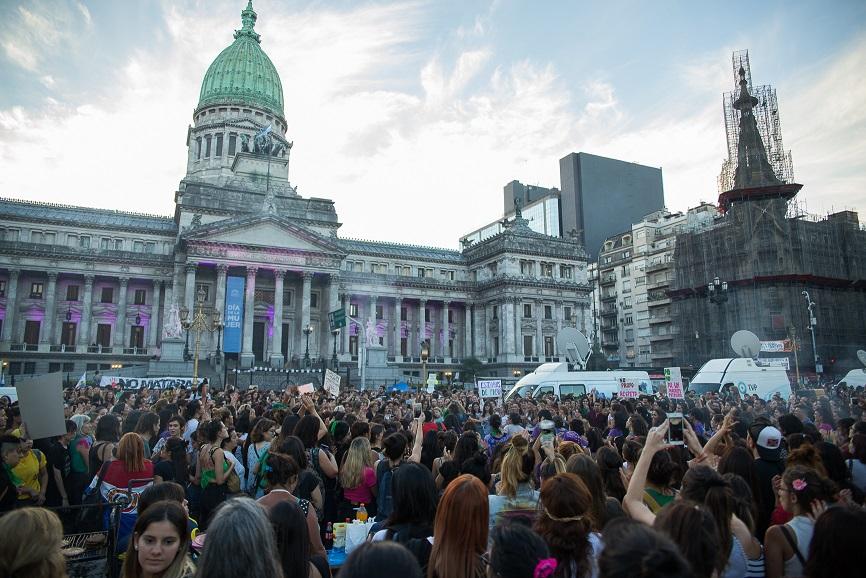 Paro Internacional de Mujeres, Buenos Aires