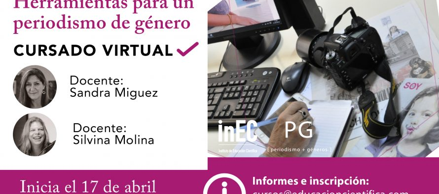 Curso Virtual: Herramientas para un periodismo de género