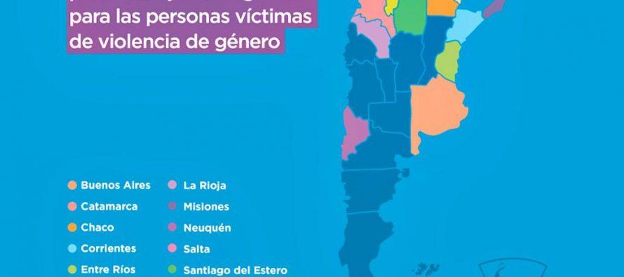 El mapa de las provincias donde abogados patrocinarán gratuitamente a víctimas de violencia de género