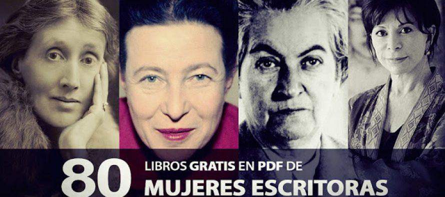 80 Libros gratis en PDF de Mujeres Escritoras