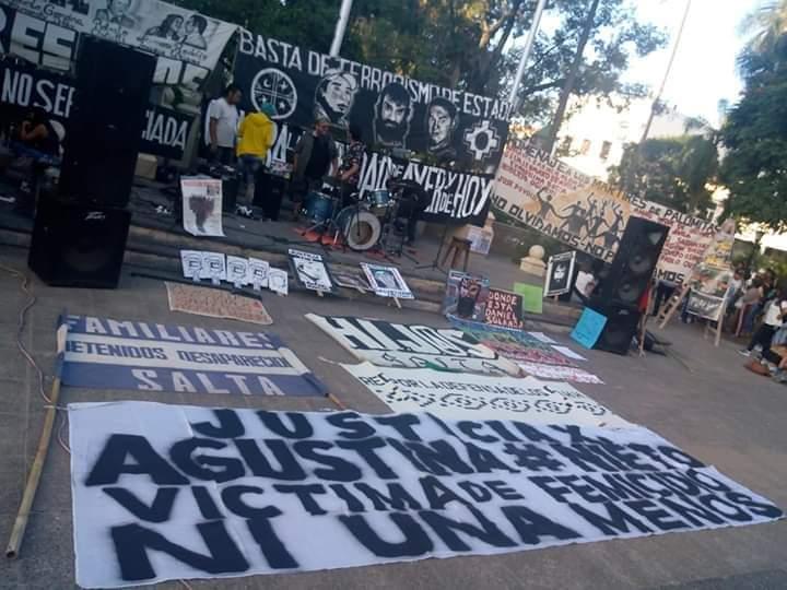 Salta. Reclaman justicia por el femicidio de Agustina Nieto