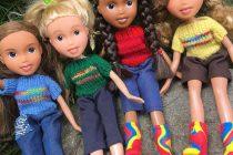 Muñecas sin maquillaje para niñas y niños de verdad