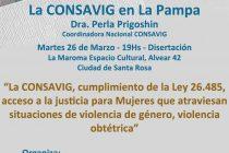 Perla Prigoshin en La Pampa