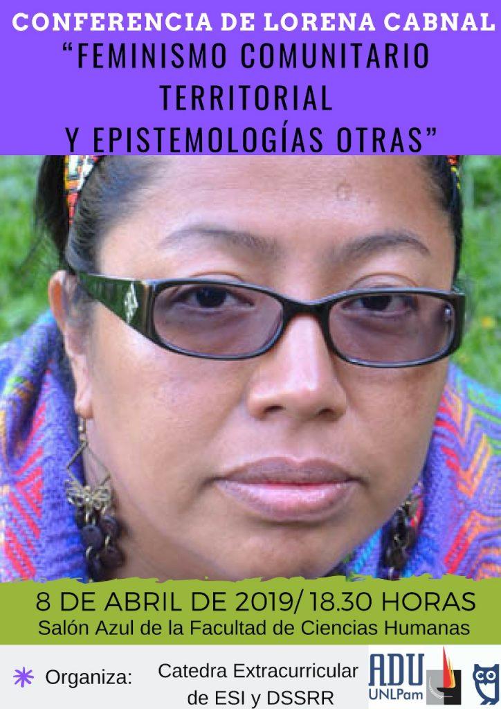 Agenda Feminista Abril2019 -La Pampa
