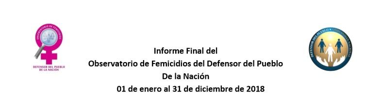 281 femicidios en todo el país, según un relevamiento del Defensor del Pueblo de la Nación.