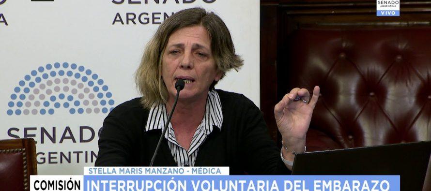 Stella Manzano: «No fue un aborto, fue un parto forzado prematuro»