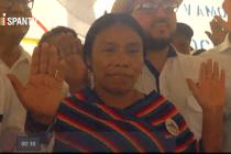 En Guatemala se oficializa candidatura de primera mujer indígena