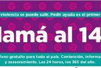 Comercios platenses deberán exhibir la publicidad de línea gratuita 144 de asistencia por violencia de género