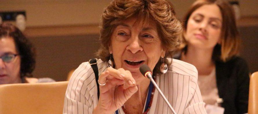 """Mabel Bianco: """"Haber logrado la masividad y la visibilización de la violencia es muy importante, pero aún falta romper muchos silencios"""""""