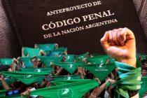 Aborto en el proyecto de Código Penal de la Nación 2019