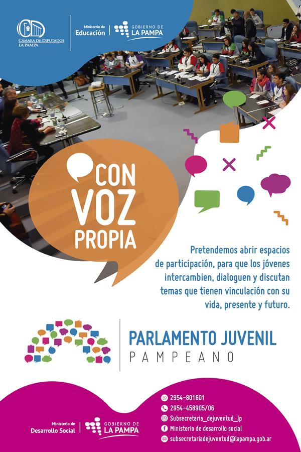 Parlamento juvenil pampeano