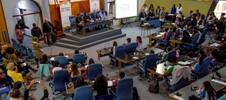Parlamento juvenil pampeano. Abierta la inscripción