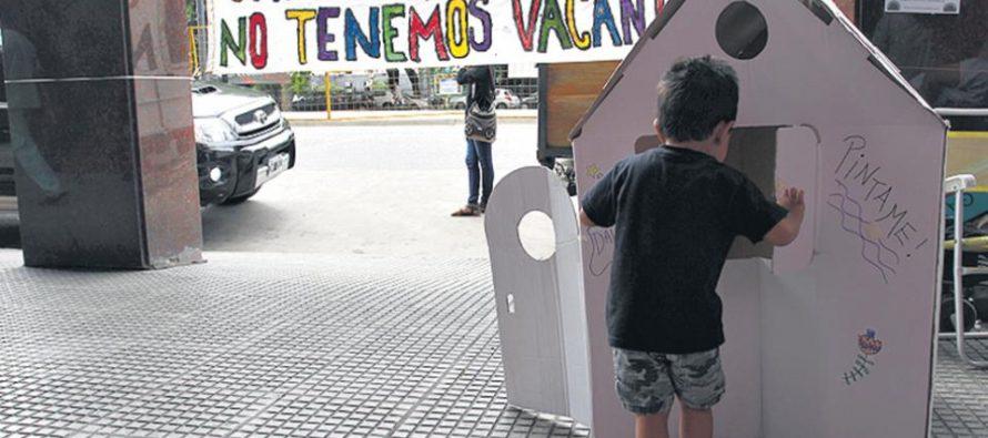 """""""Las mujeres peleamos la vacante al Estado"""""""