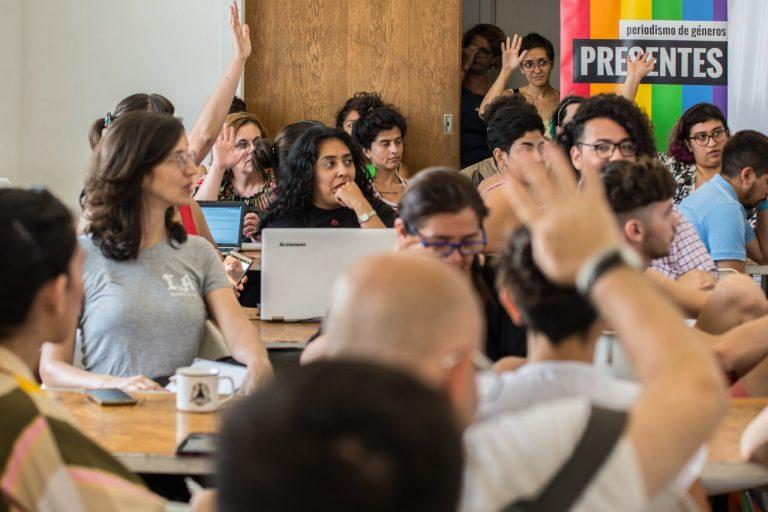 Taller de comunicación sobre coberturas con perspectiva LGBT+