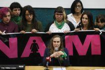 Abusos en la UNCuyo: la lucha feminista acompañó a las denunciantes que expresaron su dolor