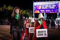 #AbortoLegalYa en la Feria del Libro: la nueva acción de Las Criadas