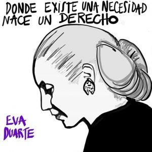 Evita entrañable