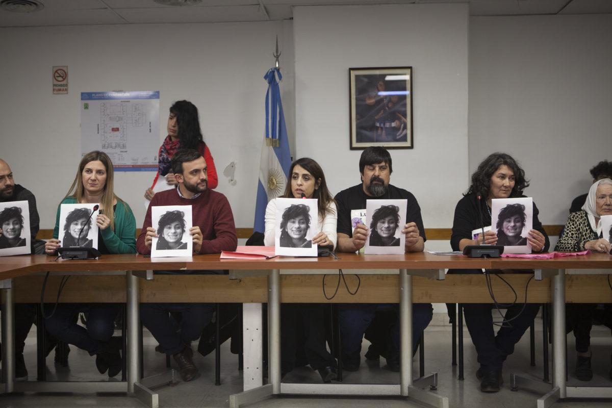 Juicio a los jueces: la presentación de la familia de Lucía Pérez