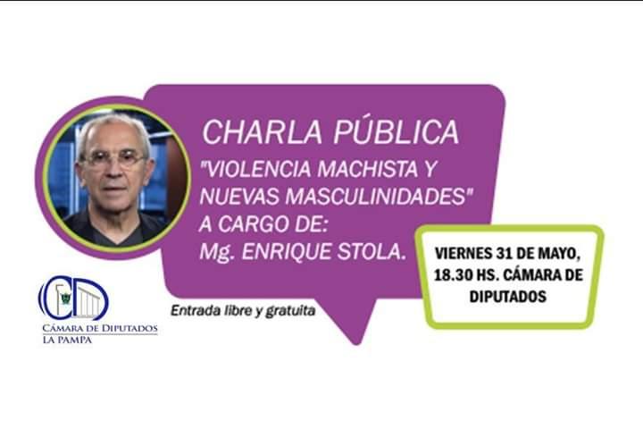 """Enrique Stola: """"Violencia machista y nuevas masculinidades"""""""