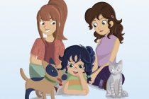 Clara, mami y mamá, un precioso libro infantil que nos habla de diversidad familiar