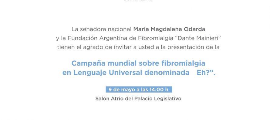 Hoy lanzan Campaña Mundial sobre Fibromialgia