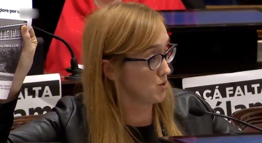 Anabel Fernández Sagasti: candidata por el aborto legal en Mendoza